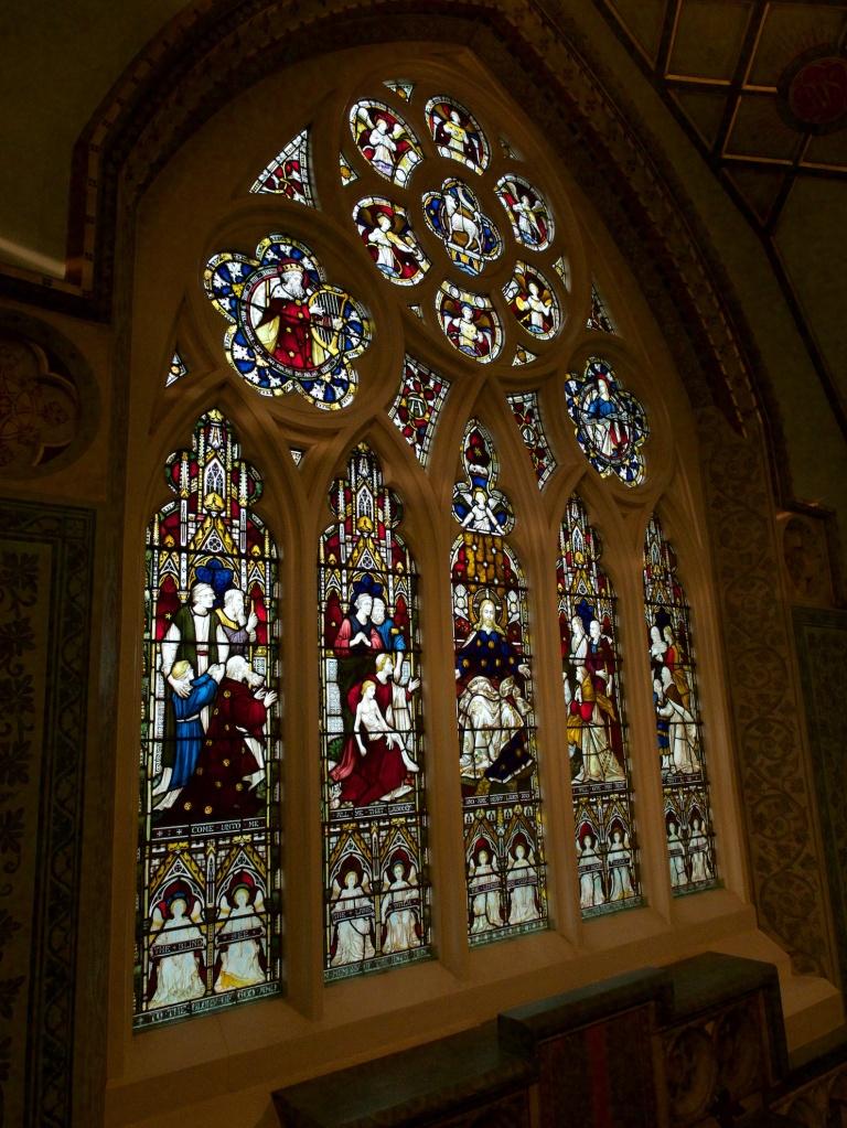 Eastern Window of Barter Memorial Chapel