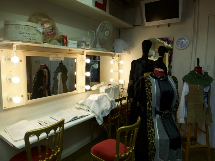 Dressing Room at Chesil Theatre