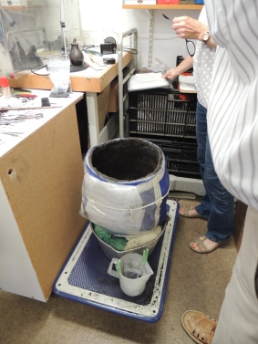 Archaeology in a lab