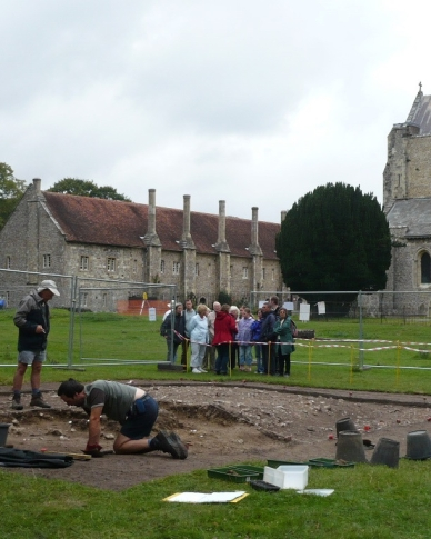 Archaeology at St Cross