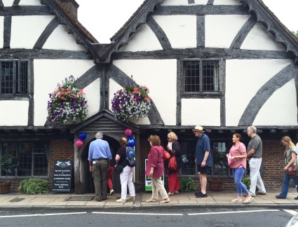 The Chesil Rectory tour