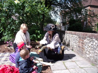 Storytelling Pedlars and Petticoats at Winchester City Mill