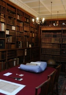 Fellows Library at Winchester College - tours on the Friday