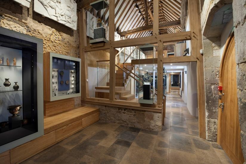 Treasury completed interior Gallery 3