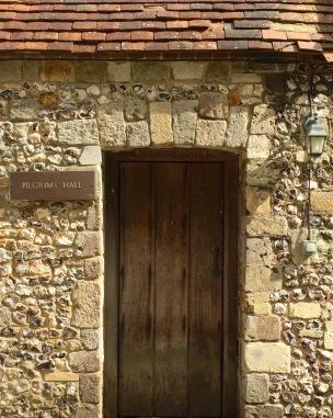 Door to Pilgrim's Hall