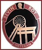 Bevin Boy badge