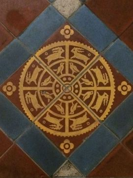 Inlaid tile